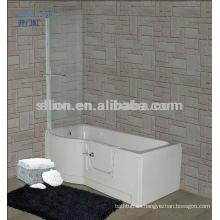 Paseo de acrílico nuevo estilo en baño para personas mayores y discapacitados
