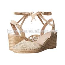China Facotry Mulheres Wedge Shoes Atacado Ladies Moda High Heel Pump