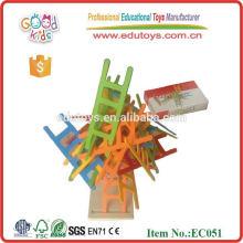 Balancing game ladder toys 25pcs stairs wooden jenga game