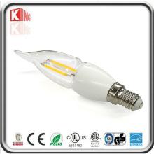 360 Degree E14 Mcob 3W 300lm LED Candle Light Bulb