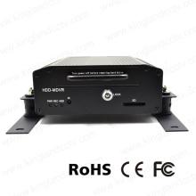 720p 4 canales HDD de alta definición de vehículos móviles DVR