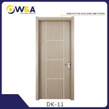 Fabricant de porte d'intérieur en bois chaud à l'aide de WPC Doors Material