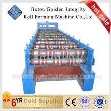 Rolling de telha de piso formando máquina Metal Tile Container Sheet Making Machine