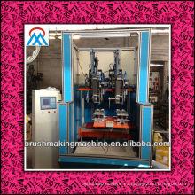 2014 máquina caliente de la fabricación de la escoba del CNC de la venta 4 ejes / máquina del tufting del cepillo CNC / de la escoba del CNC