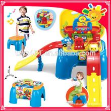 Tankstelle Orbit Modell Spielzeug erhalten einen Stuhl