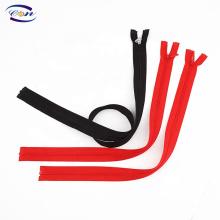 Customized teeth double color nylon zipper for garments