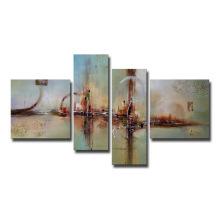 Toile décorative peinte à la main sur toile à l'huile