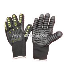 TPR Handschuhe Antivibrationsmechaniker Handschuhe Elektrodrill Handschuhe Arbeitshandschuh