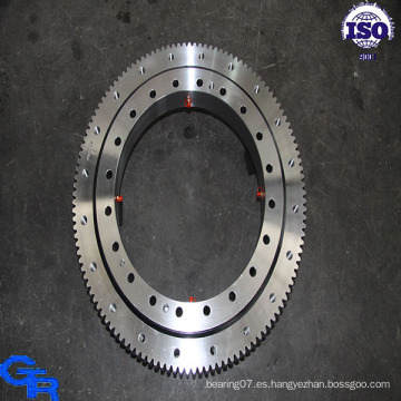 Rodamiento de rodillos cruzados de una hilera, cojinete de anillo giratorio, cojinete de anillo giratorio con precio bajo