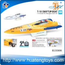 1:12 Scale wireless remote control fishing bait boat 750 Type Motor R/C Mosquito swiftly boat