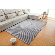 Factory Price Polyester Shaggy Floor 3D Carpet