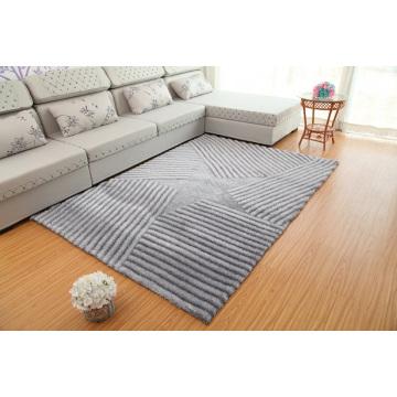Fabrik Preis Polyester Shaggy Boden 3D Teppich