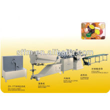 Automatic production line for hard cany cream candy