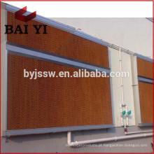 Respirador de ar evaporativo Cortina molhada para aves / estufa / oficina