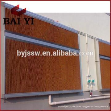Evaporative Air Cooler Wet Curtain para aves de corral / invernadero / taller