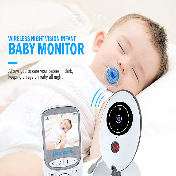 baby monitor with music playing