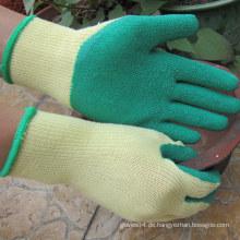 Rubber Palm Coated Bau Arbeitshandschuh