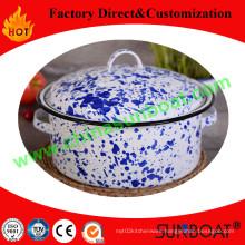 Decal Craft Enamel Stock Pot/Carbon Steel Enamel Pot