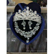 Bridal Crown Necklace Earring Accessories