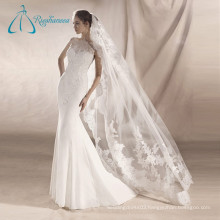 Lace Appliques Sexy Mermaid Beautiful Wedding Dresses