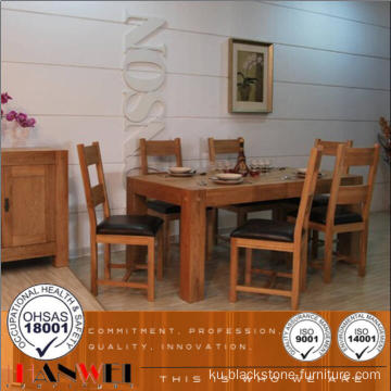 Çînê Oak Dining Table Set