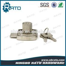 Armário de liga de zinco ajustável aço Almirah Lock com chave