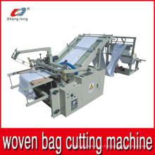 Режущий станок для резки пластмассовых плетеных рулонов