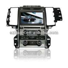 Pantalla táctil de 8 pulgadas Reproductor MP4 de wince de doble zona para Ford Taurus con GPS / Bluetooth / Radio / SWC / Virtual 6CD / 3G / ATV / iPod