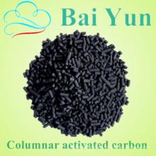 Filtro de água de carbono ativado em colunas com base de carvão