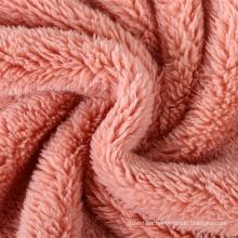 Soft Warm 100% Polyester Velveteen Fabric