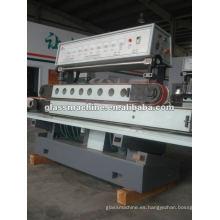 Máquina de acristalamiento de línea recta concreta de terrazo QJ877A-1 con 11 ruedas