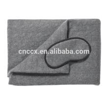 PK17ST462 cable knit cashmere travel set