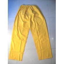 Yj-6001 Imperméable PVC Rain Suit Jaune Raincoats Vestes imperméables pour hommes Femmes