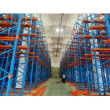 Hot sale professional warehouse drive-in shelving/drive-in shelf