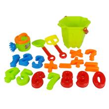 Brinquedo de plástico verão crianças praia de areia set (h9690043)