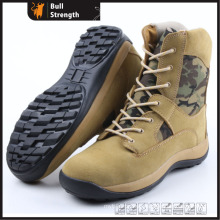 Army Safety Boots with Rubber Sole (SN5187)