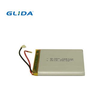 Batterie lithium-ion polymère rechargeable Lipo 3.7V 200mAh