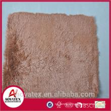 Polyester brillant shaggy tapis tapis lowes, anti-dérapant longs tapis de pique-nique de fourrure, tapis de sol promotionnel de haute qualité