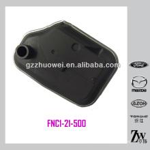 Peças de filtro de transmissão automática para Mazda Oem: FNC1-21-500