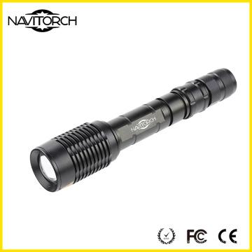 Xm-L T6 10W Zoomable Прочный алюминиевый светодиодный фонарик (NK-366)