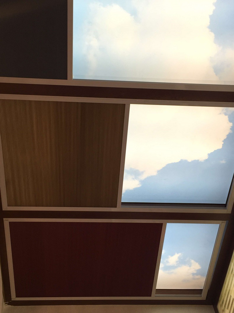 skylight honeycomb blinds
