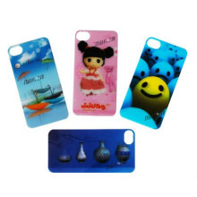 3D Effect Printing Lenticular Mobile Phone Sticker