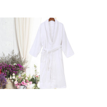 White Cotton Hotel Robes Handtuch Bademantel