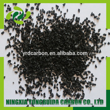 1000 iodine number recovering gold coconut shell activated carbon per kg price