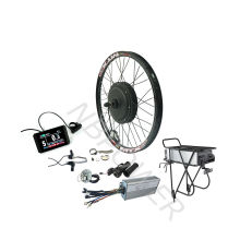 48v 1500w electric conversion electric bike hub motor kit with 48v 20Ah rear rack battery