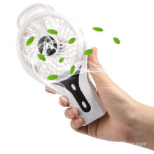 Office Mini Misting Fan Spray Bottle Silent Square