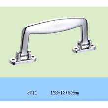 A alça de plástico prateado para caixa de alumínio C011