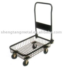 Mesh basket platform hand truck PH1554