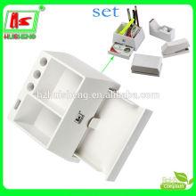 Wholesale office desktop multifunctional acrylic stationery rack
