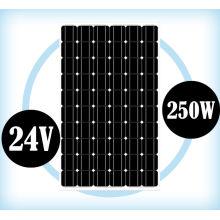 Módulo monocristalino 24V 250W del panel solar